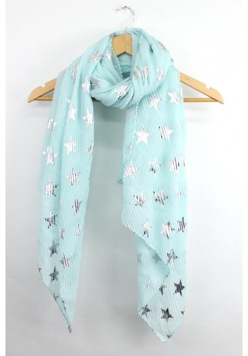 Star Scarf - Mint