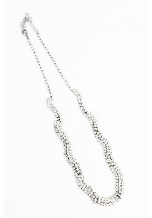 Bling Cubic Chain Necklace